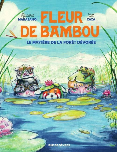 Fleur de Bamboo - Le mystère de la forêt dévorée  - Marazano Richard