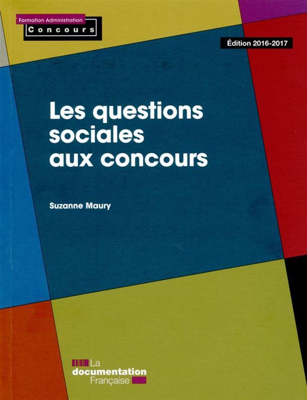 les questions sociales aux concours (édition 2016-217)