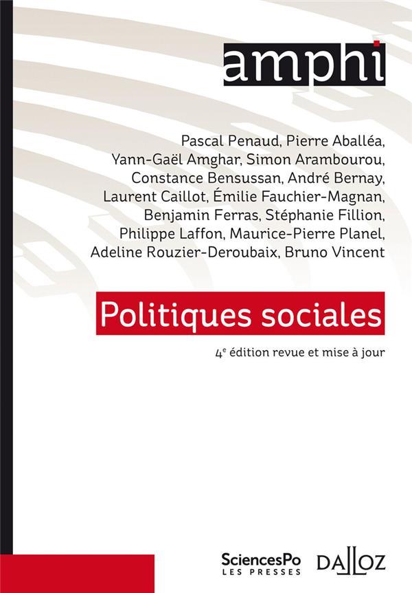 Politiques sociales (4e édition)