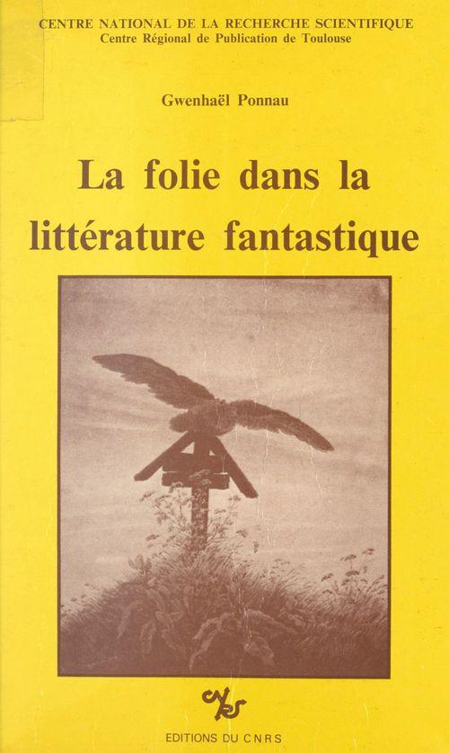 La folie dans la littérature fantastique