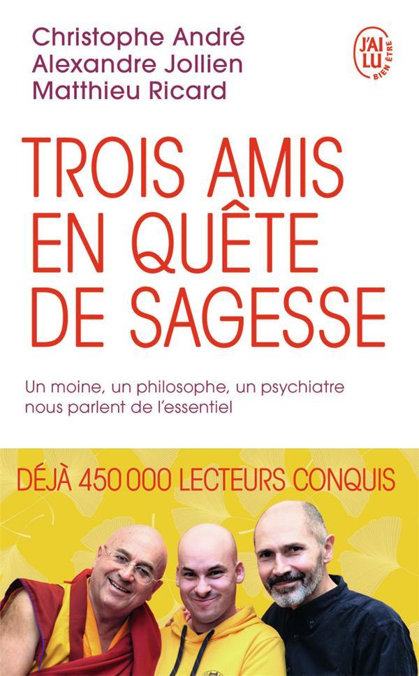 Trois amis en quête de sagesse ; un moine, un philosophe, un psychiatre nous parlent de l'essentiel