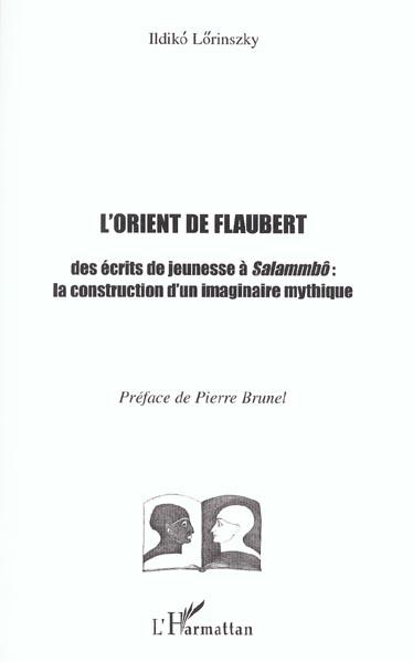 L'ORIENT DE FLAUBERT