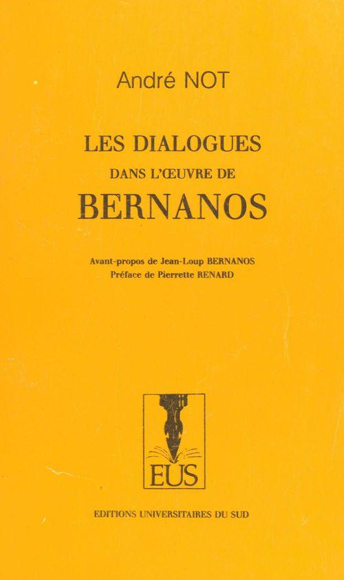 Les dialogues dans l'oeuvre de Bernanos
