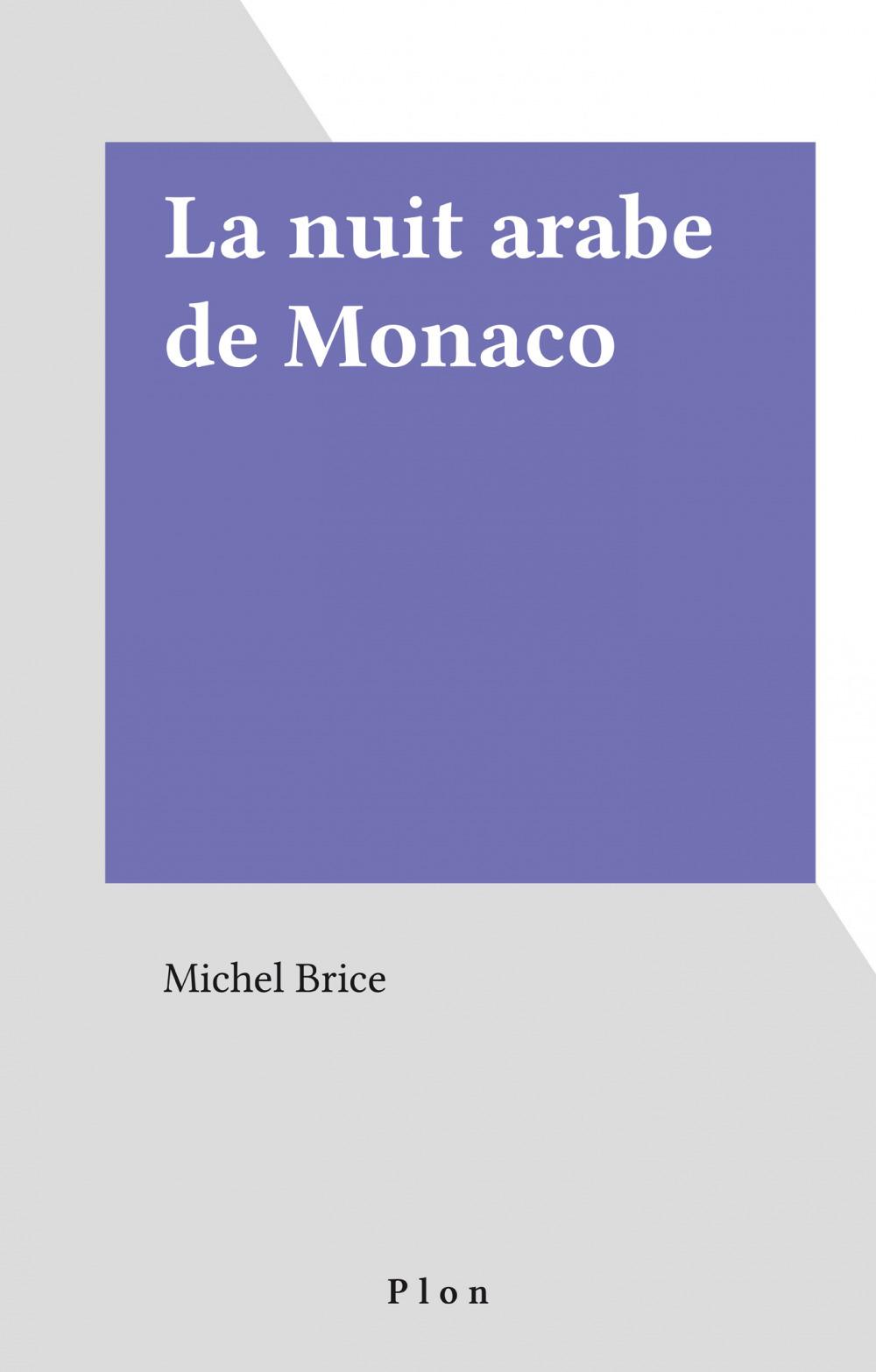 Nuit arabe de monaco
