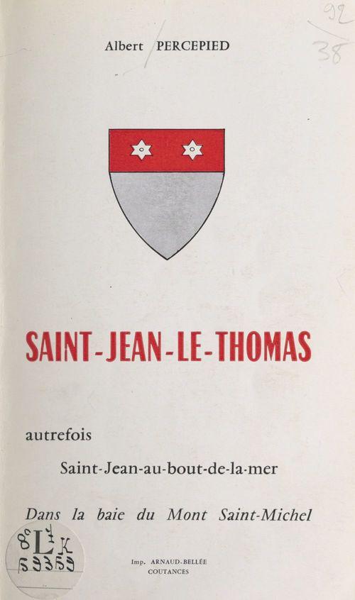 Saint-Jean-le-Thomas  - Albert Percepied