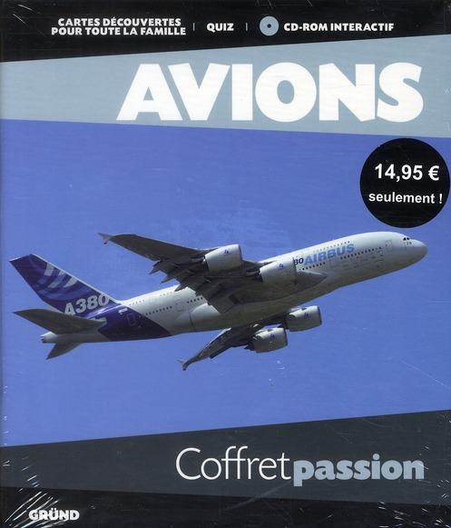 Avions ; Coffret Passion