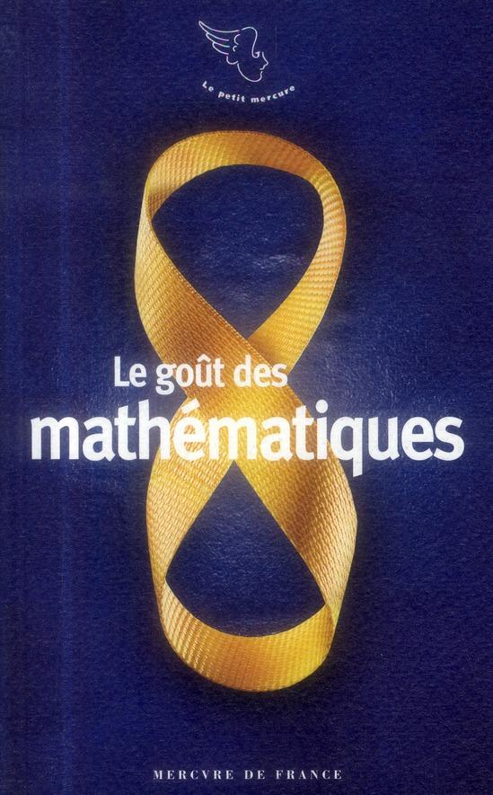 Le goût des mathématiques