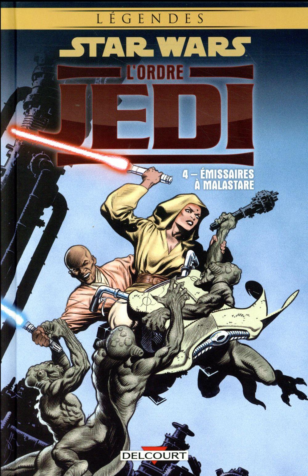 Star Wars - légendes ; l'Ordre Jedi t.4 ; émissaires à Malastare