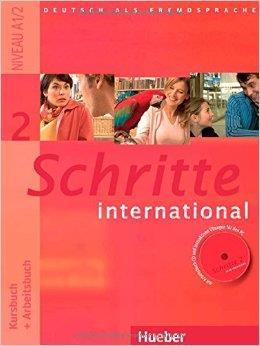 Schritte international 2 Kursbuch + Arbeitsbuch mit Audio-CD zum Arbeitsbuch und interaktiven Übunge