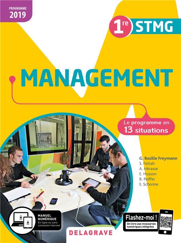 Management ; 1re STMG ; pochette de l'élève (édition 2019)