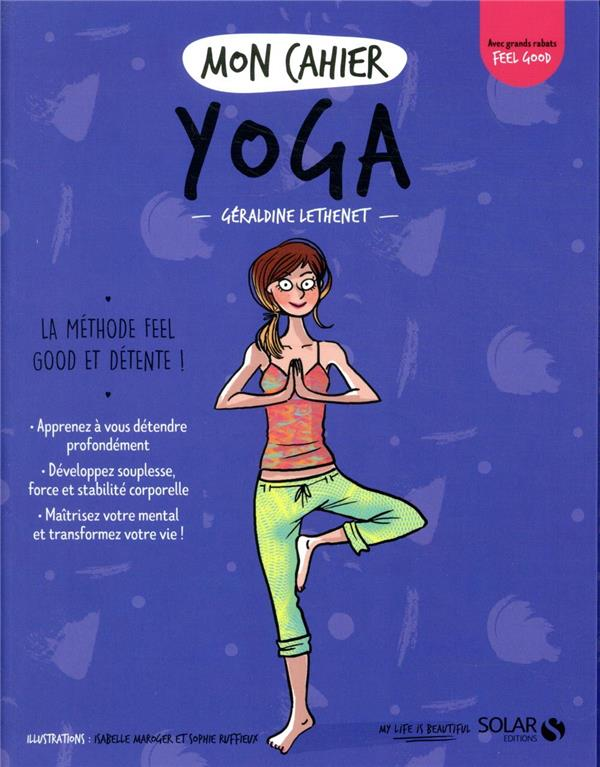 MON CAHIER ; yoga