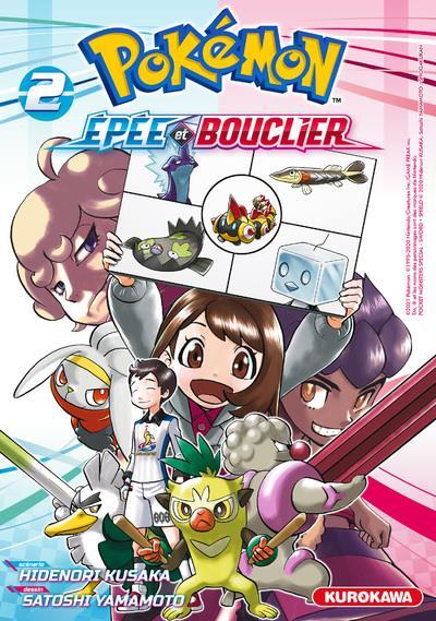 Pokémon ; la grande aventure - Epée et Bouclier t.2