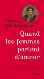 Vente EBooks : Quand les femmes parlent d'amour  - Françoise Chandernagor