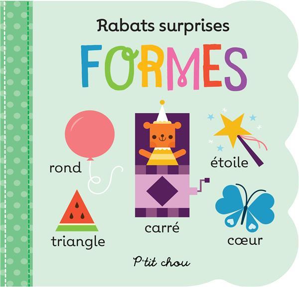 rabats surprises : formes