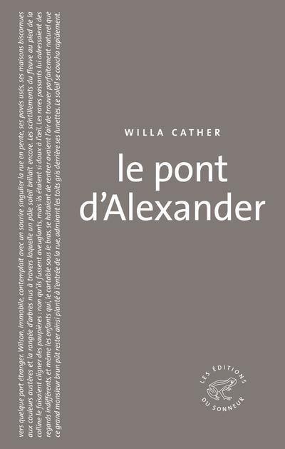 Le pont d'Alexander