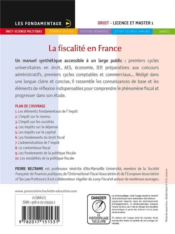 La fiscalité en France (édition 2021/2022)