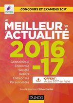 Vente Livre Numérique : Le meilleur de l'actualité 2016-17  - Olivier Sarfati