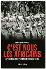 Vente Livre Numérique : C'est nous les Africains  - Dominique LORMIER