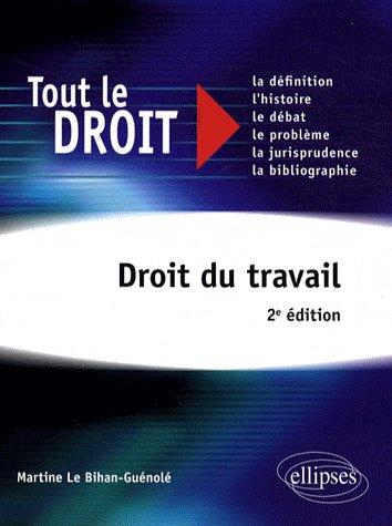 Droit Du Travail 2e Edition