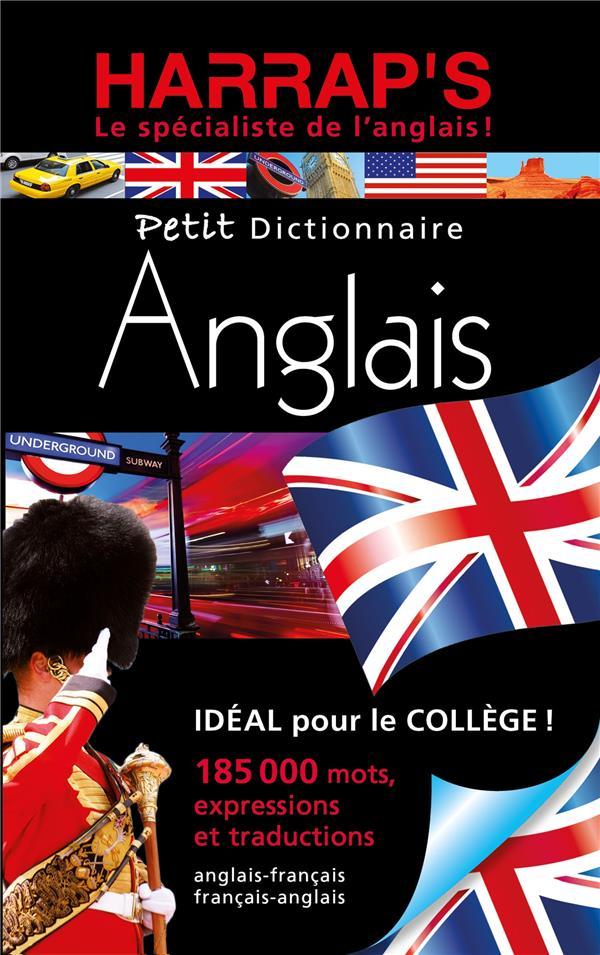 Petit dictionnaire anglais