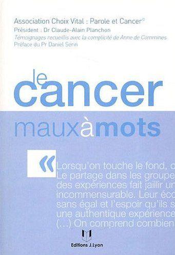 Le cancer maux à mots