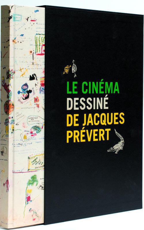 Le cinéma dessiné de Jacques Prévert ; coffret