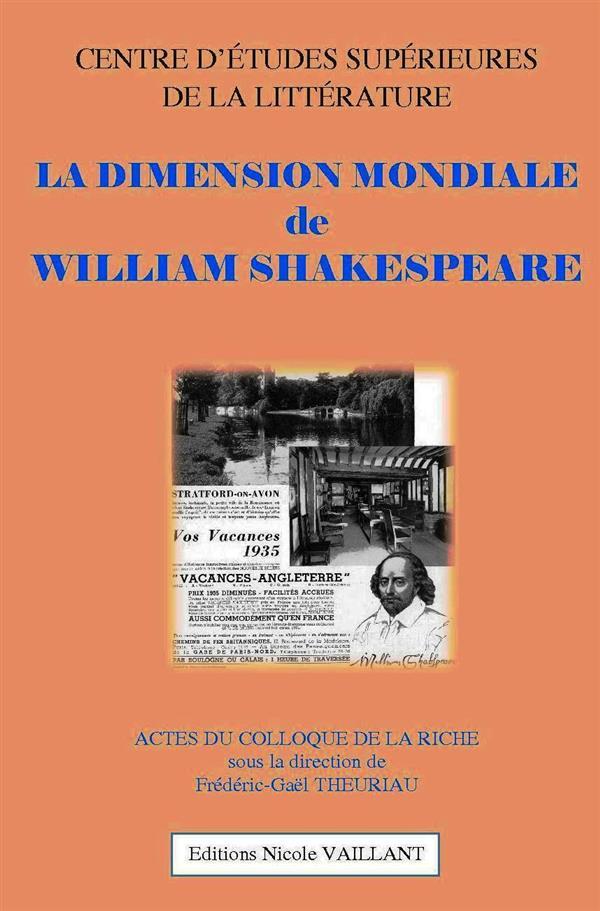la dimension mondiale de William Shakespeare