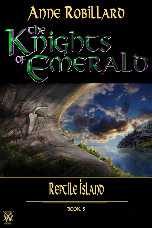 The Knights of Emerald 05 : Reptile Island