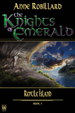 Vente Livre Numérique : Knights of Emerald 05 : Reptile Island  - Anne Robillard