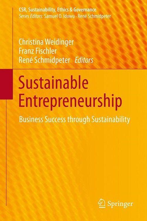 Sustainable Entrepreneurship