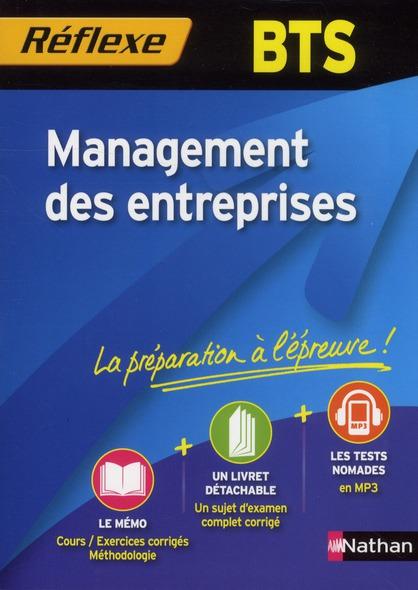 Memos Reflexes T.96; Management Des Entreprises ; Bts