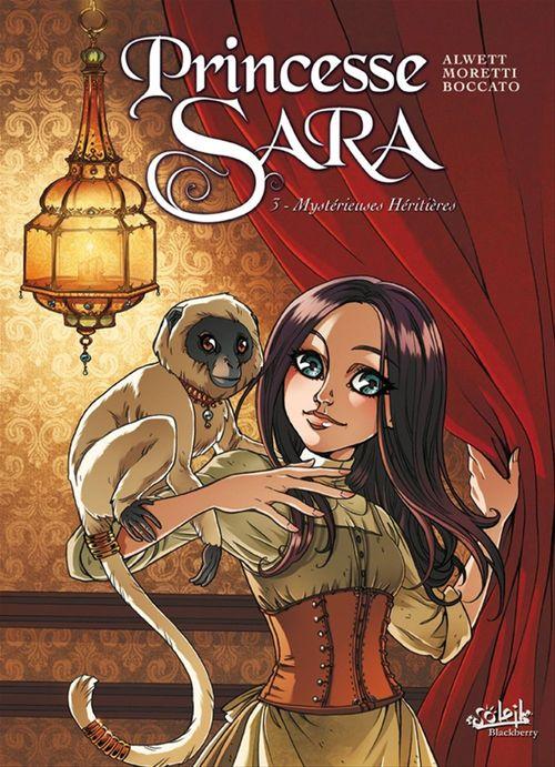 Princesse Sara t.3 ; mystérieuses héritières