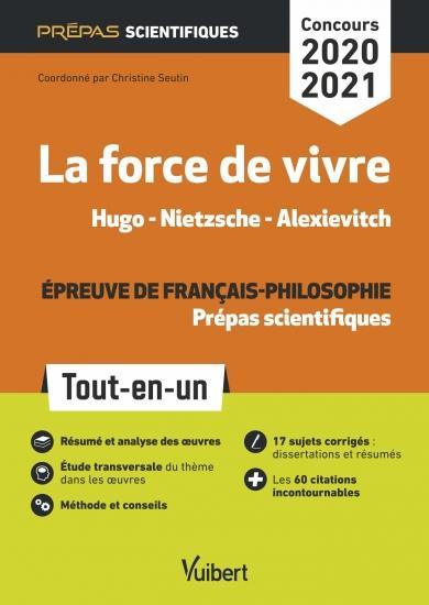 Nouveau thème - épreuve littéraire - prépas scientifiques - concours 2020-2021 (édition 2020/2021)