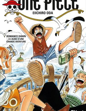 One Piece - édition originale T.1 ; Romance Dawn, à l'aube d'une grande aventure