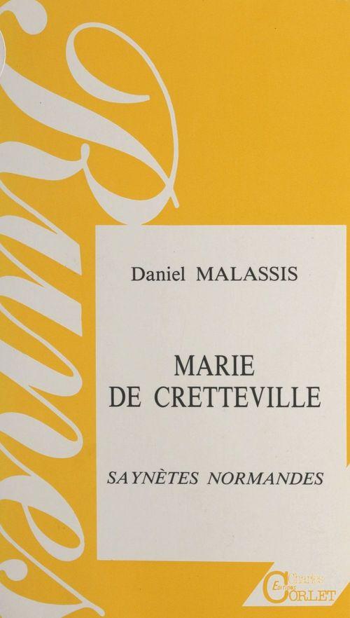 Marie de creteville