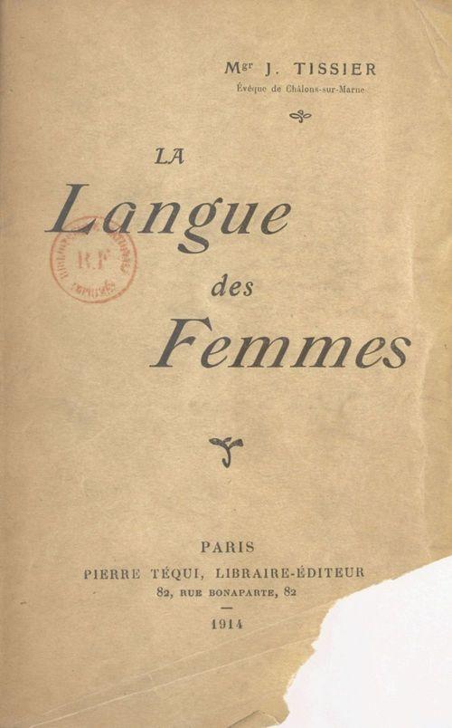 La langue des femmes