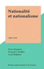 Nationalité et nationalisme  - Fernand L'Huillier - Pierre Benaerts