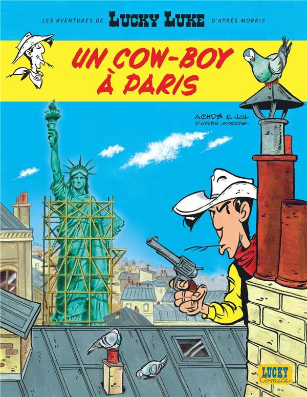 Lucky Luke T.8 ; un cow-boy à Paris