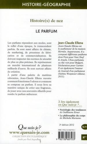 le parfum (3e édition)