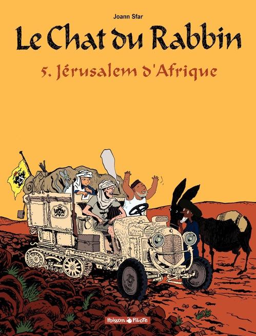 Le chat du rabbin T.5 ; Jérusalem d'Afrique