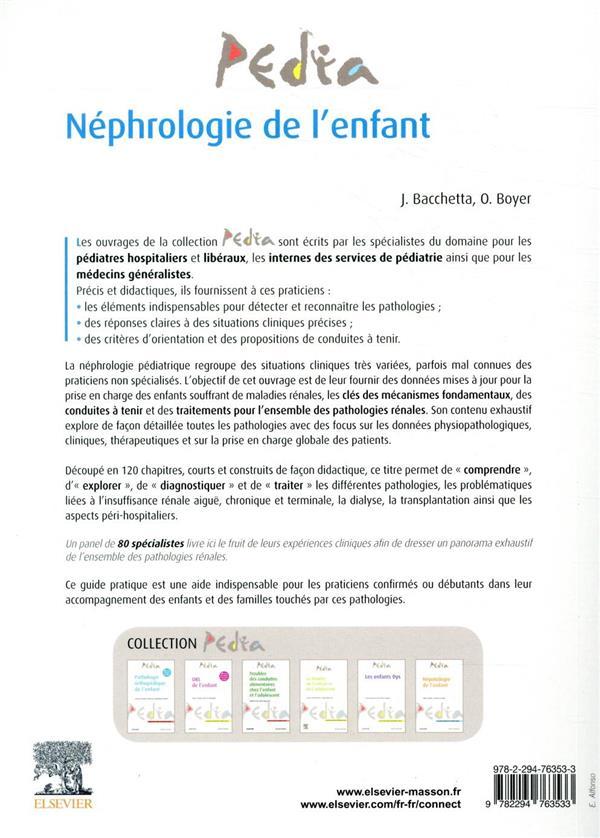 Néphrologie de l'enfant