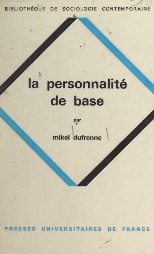 La personnalité de base