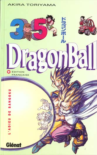 Dragon Ball T.35 ; L'Adieu De Sangoku