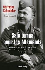 Vente EBooks : Sale temps pour les Allemands  - Christine Schneider