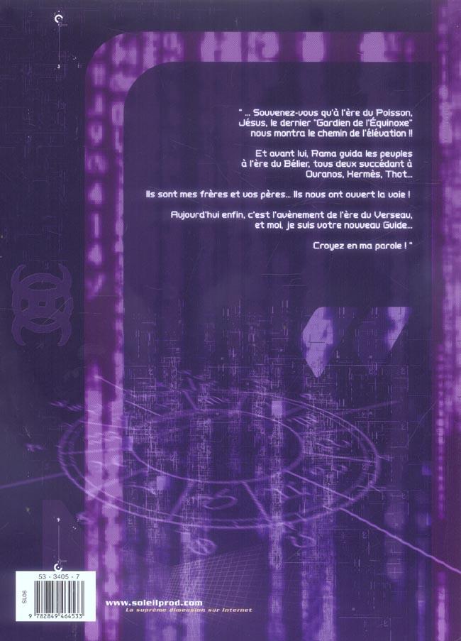 Verseau t.2 ; dans l'ombre des dieux