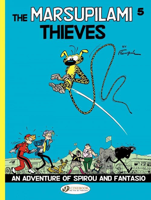 Spirou & Fantasio adventures T.5 ; the Marsupilami thieves