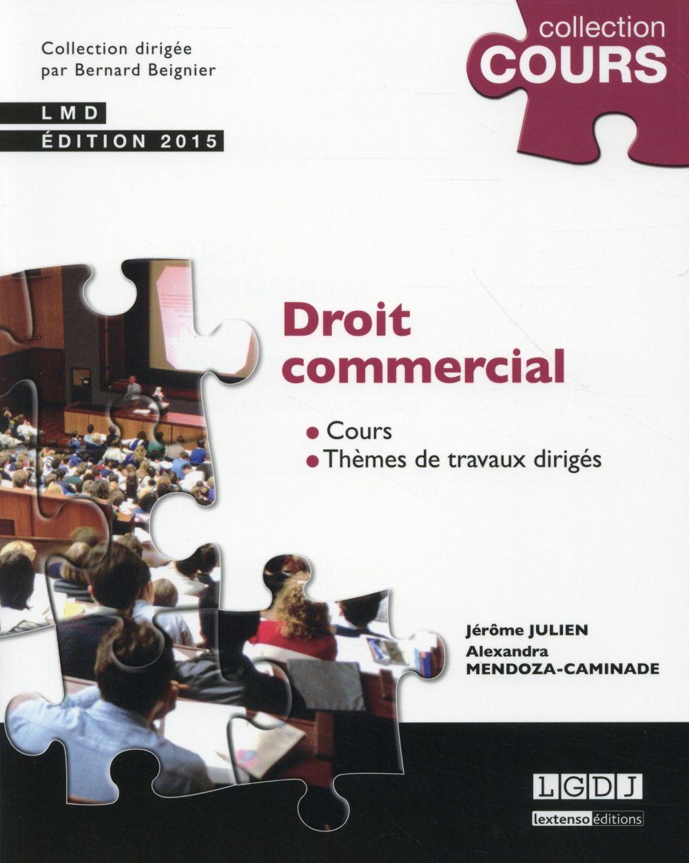 Droit commercial (2e édition)