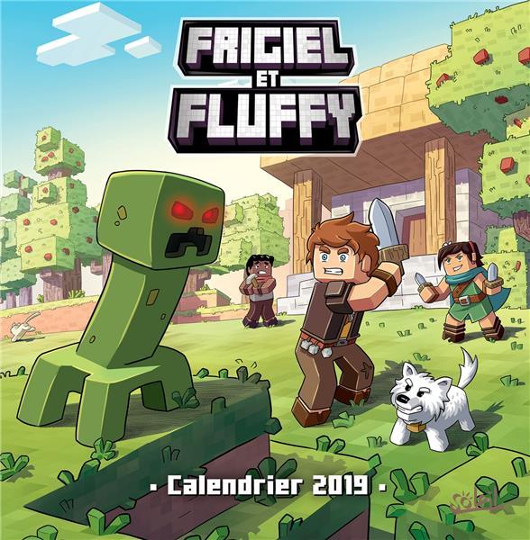 Frigiel Et Fluffy Calendrier Edition 2019 Frigiel