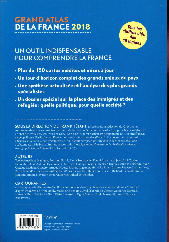 Grand atlas de la France (édition 2018)