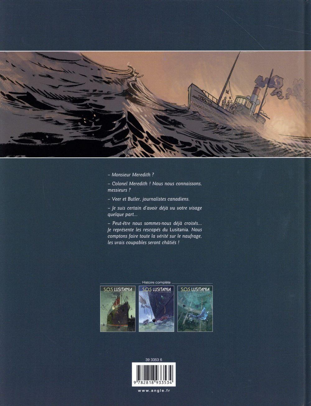 S.O.S. Lusitania T.3 ; la mémoire des noyés